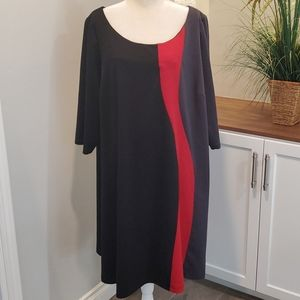 3/4 Sleeve Dress, Size 26/28